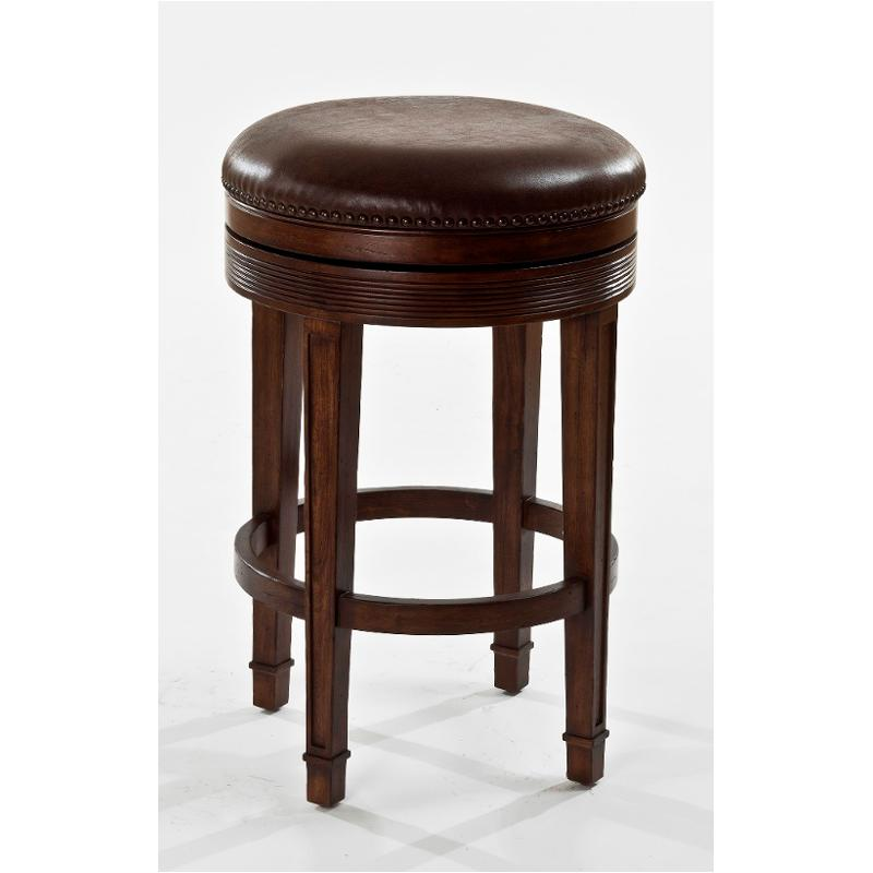5607 830 Hilale Furniture Lau Backless Swivel Bar Stool