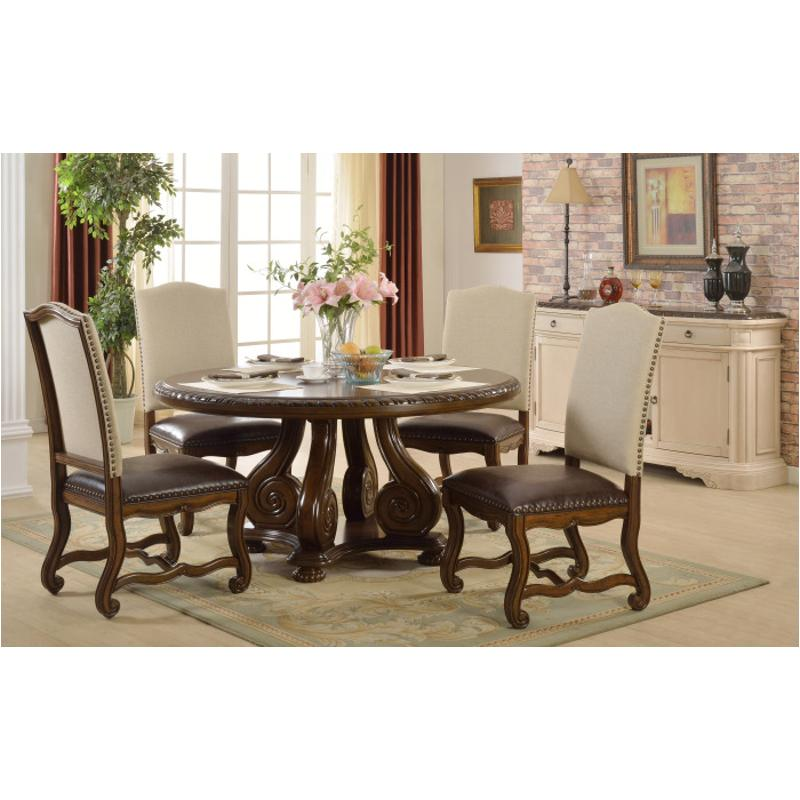 D9800 60x60 mc ferran home furnishings d9800 60in round table for Table 60x60 design