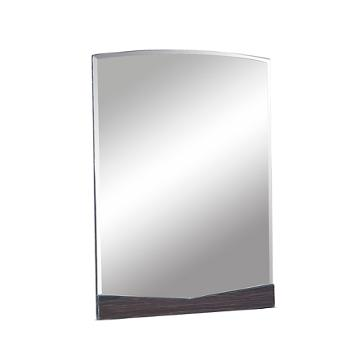 Aurora we bm global furniture aurora wenge big mirror for Miroir wenge