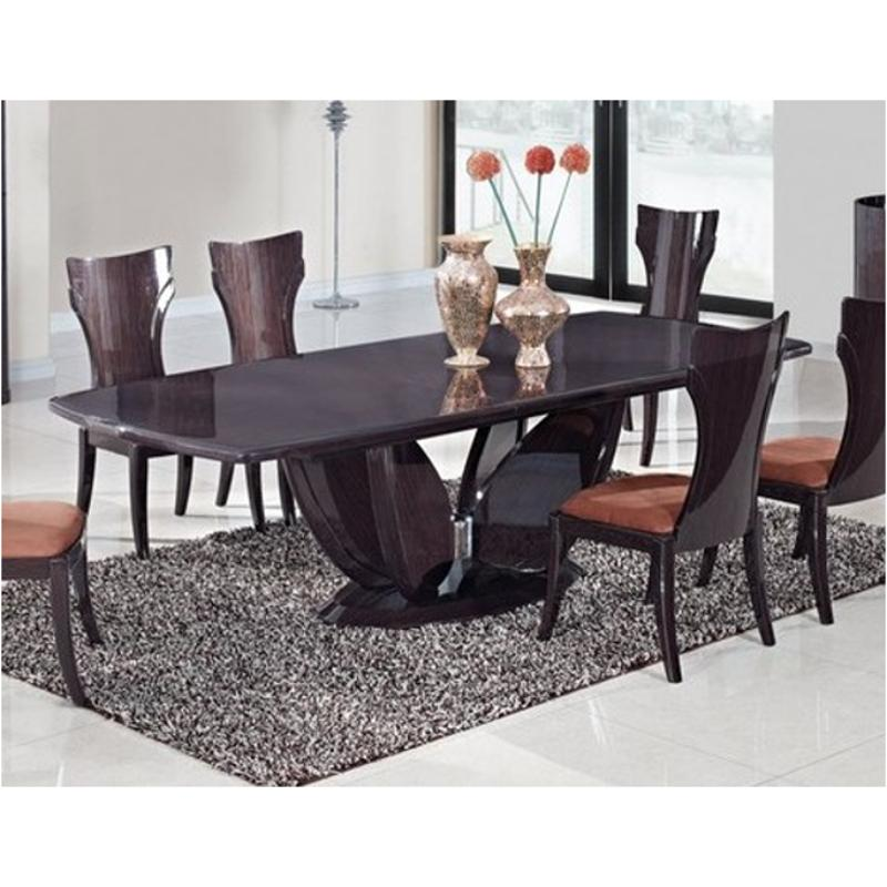 wenge living room furniture d52 wenge dt global furniture 52 wenge dinette table wenge 12855