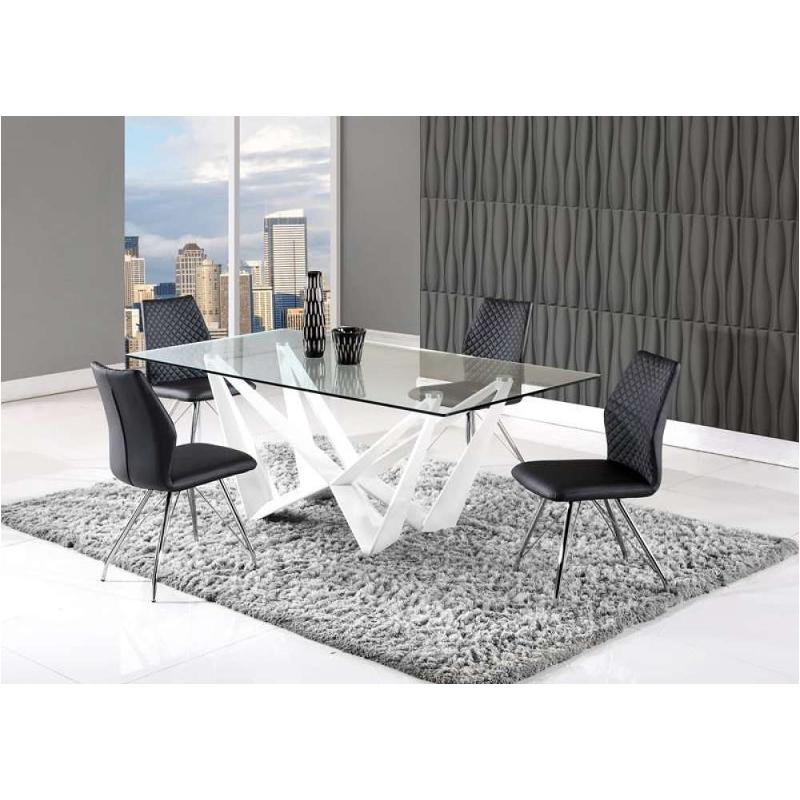 D2003dt Wh Global Furniture 2003 Dinette Table White