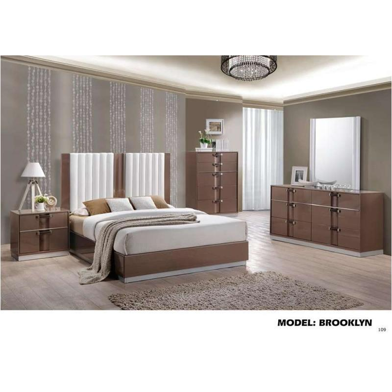 Brooklyn-br-d Global Furniture Brooklyn - Brown Light Hg Dresser - Brown  Light Hg