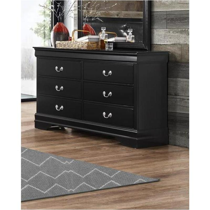 Marley-bl-d Global Furniture Marley - Black Dresser