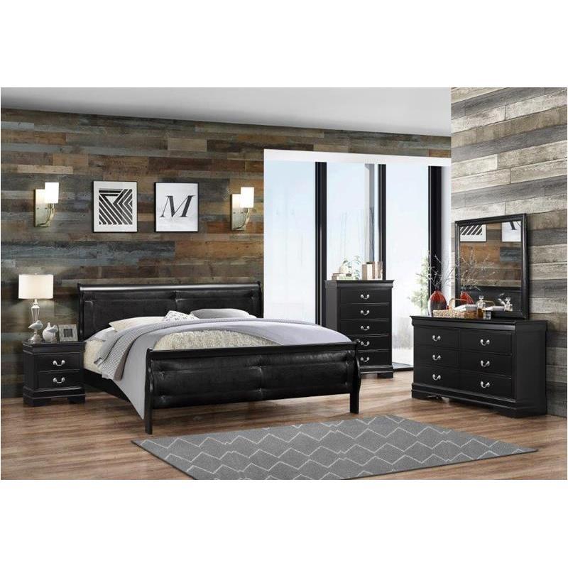 Superieur Marley Bl Kb Global Furniture Marley   Black Bedroom Bed