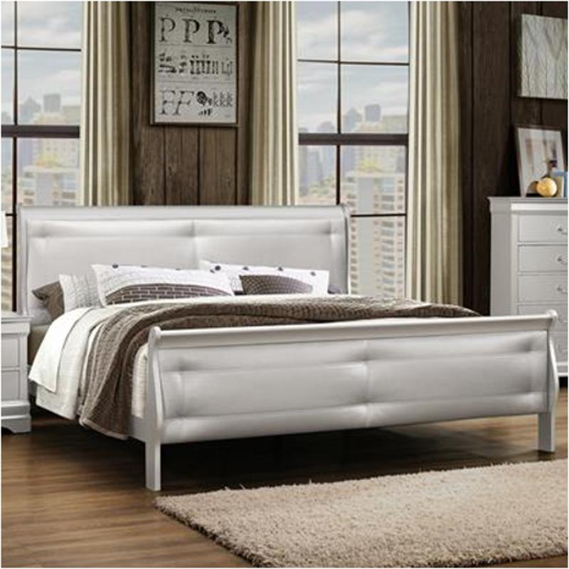 Charmant Marley Slr Kb Global Furniture Marley   Silver Bedroom Bed