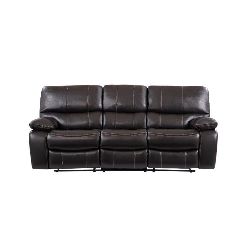 Fantastic U0040 Br Rs Global Furniture U0040 Agnes Espresso Black Reclining Sofa Frankydiablos Diy Chair Ideas Frankydiabloscom
