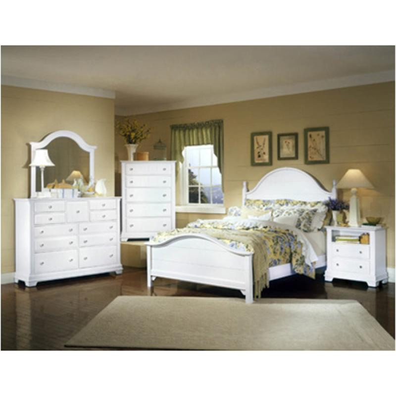 Bassett Bedroom Sets: Bb24-558 Vaughan Bassett Furniture Queen Panel Bed