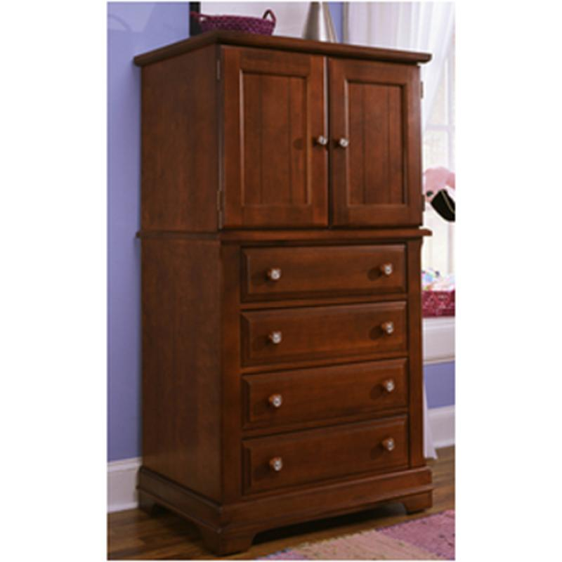 Basset Furniture Store: Bb19-116 Vaughan Bassett Furniture Vanity Chest