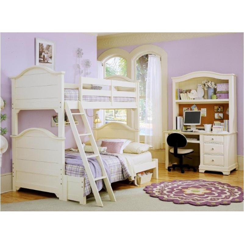 Bb17 333a Vaughan Bassett Furniture Bunk Bed Creamy White