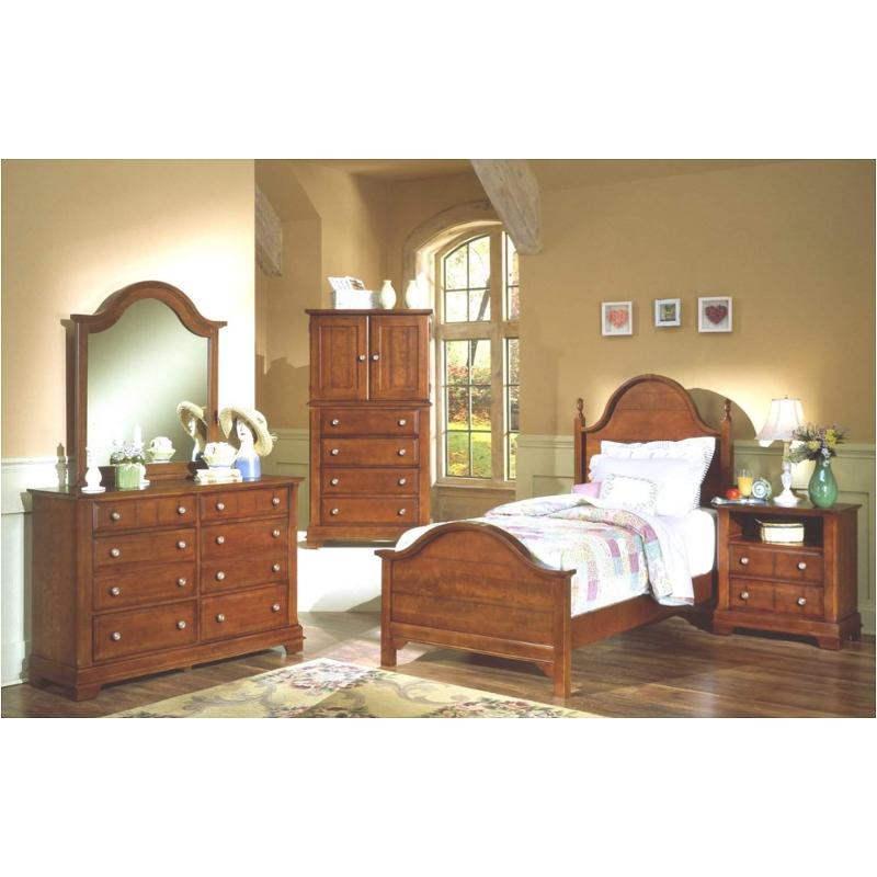 Superbe Bb19 552 Vaughan Bassett Furniture Cottage   Cherry Kids Room Bed