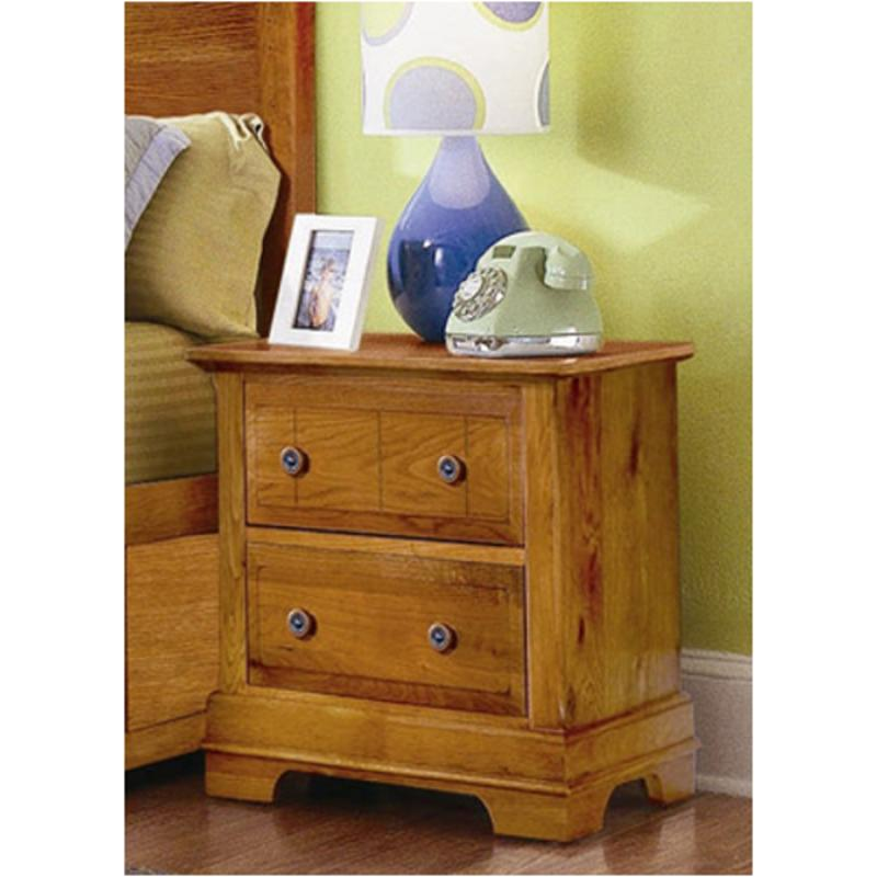 Bb21-226 Vaughan Bassett Furniture Cottage - Oak Night Stand - Oak