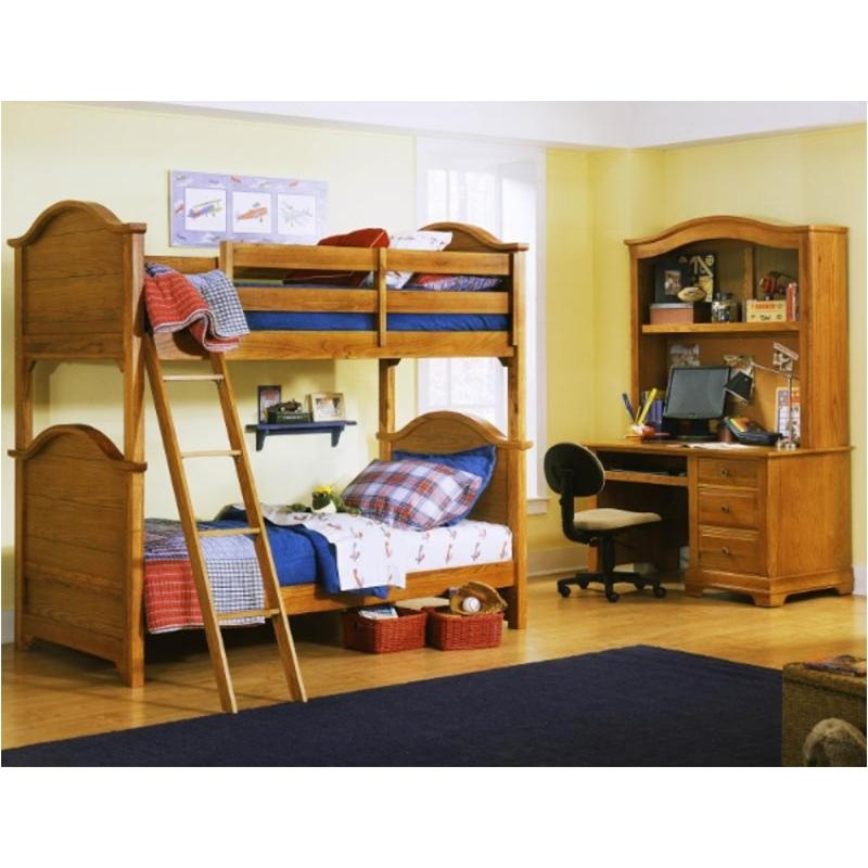 Bb21 333a Vaughan Bassett Furniture Cottage Oak Bunk Bed Oak