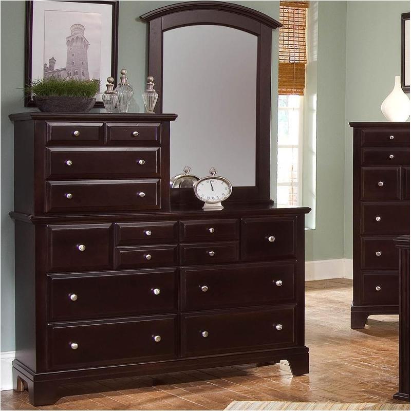 Bb4-003 Vaughan Bassett Furniture Vanity Dresser