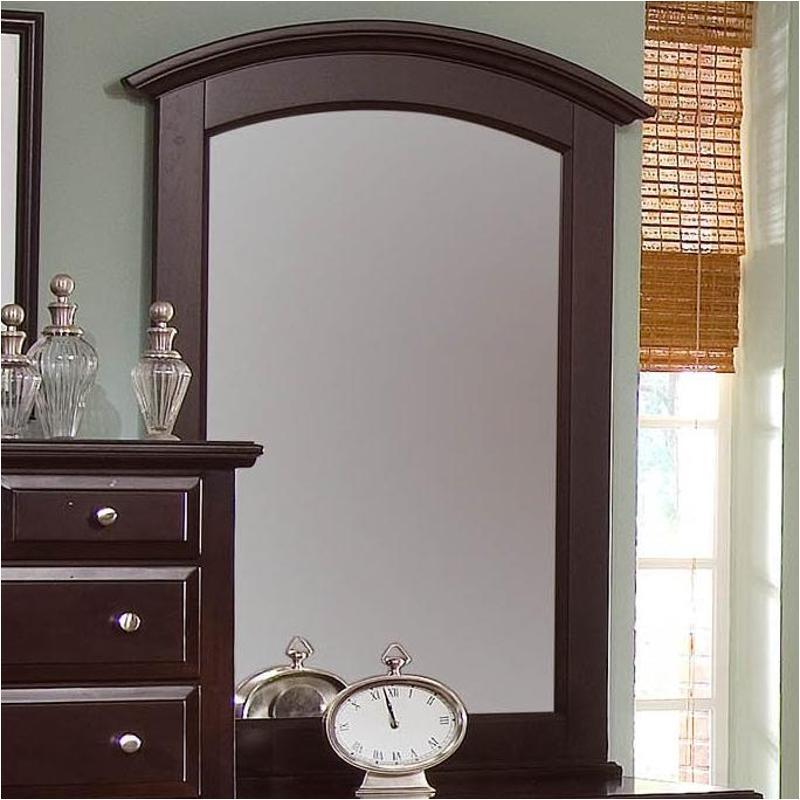 Vaughan Bassett Louis Collection: Bb4-443 Vaughan Bassett Furniture Vanity Mirror