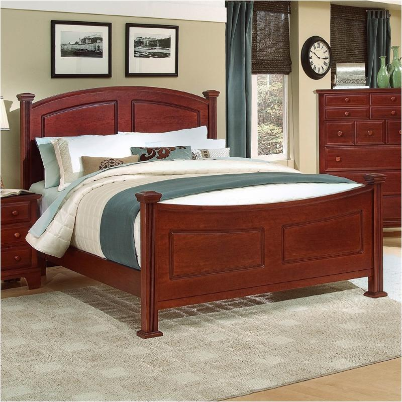 Bassett Bedroom Sets: Bb5-668 Vaughan Bassett Furniture Eastern King Panel Bed