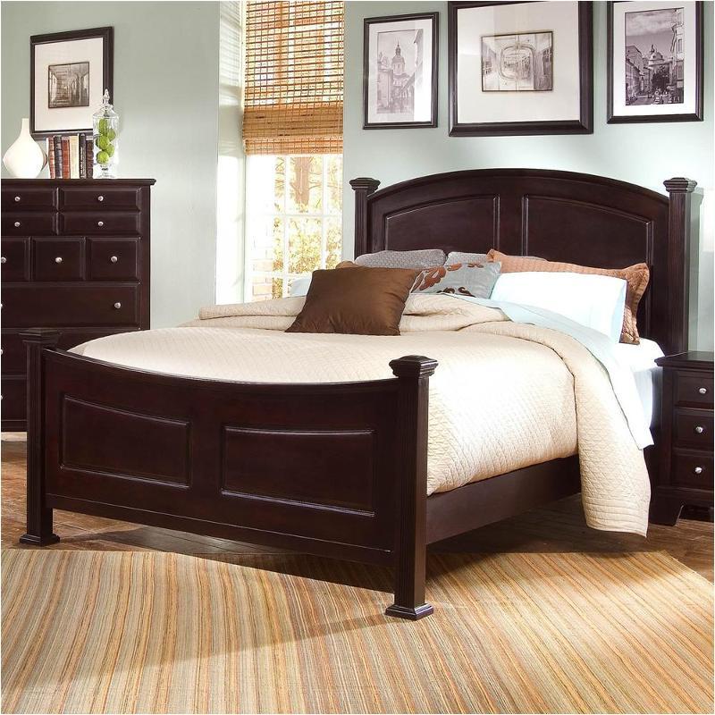 Bb4-668 Vaughan Bassett Furniture Eastern King Panel Bed