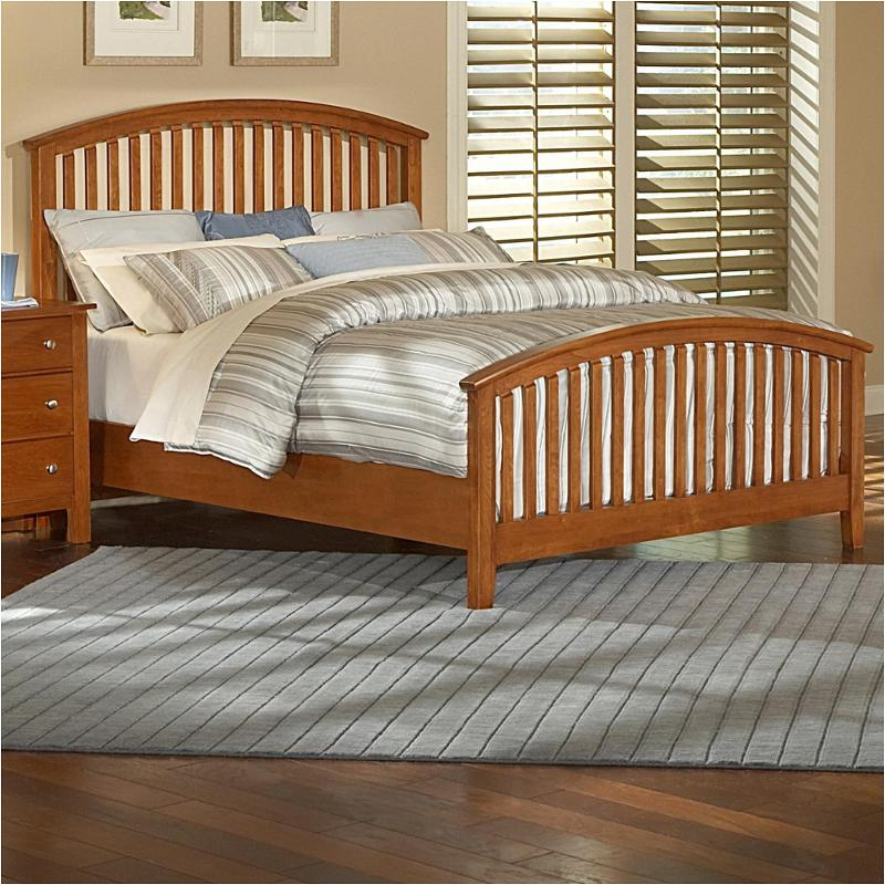 Bassett Bedroom Sets: 302-559 Vaughan Bassett Furniture Queen Arched Slat Bed