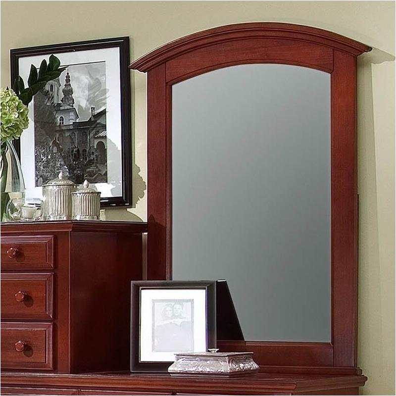 Exceptionnel Bb5 443 Vaughan Bassett Furniture Hamilton/franklin   Cherry Bedroom Mirror