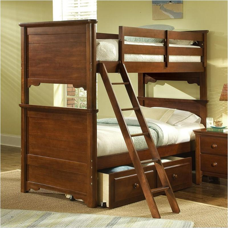 801 333a Vaughan Bassett Furniture Twin Bunk Bed