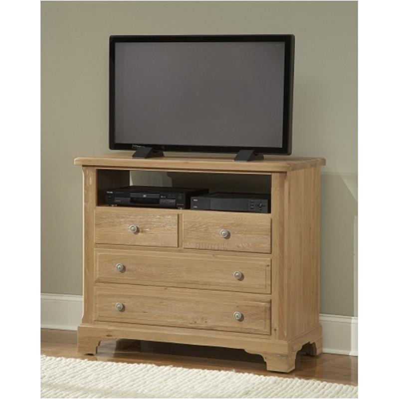 344 114 Vaughan Bett Furniture American Journey Light Washed Oak Bedroom Chest