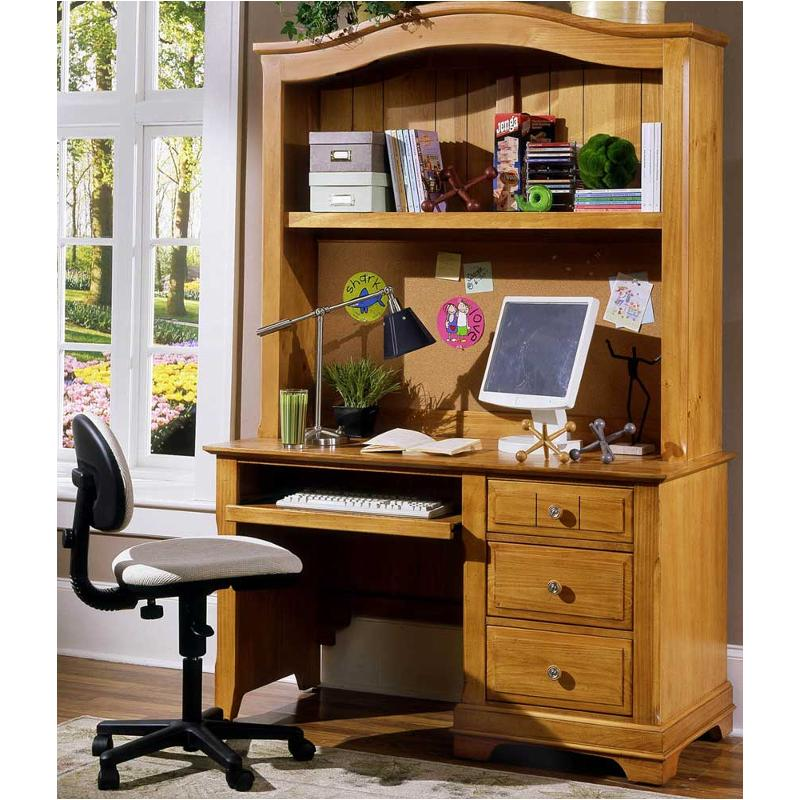 Bb20 778b Vaughan Bassett Furniture Cottage Pine Computer Desk
