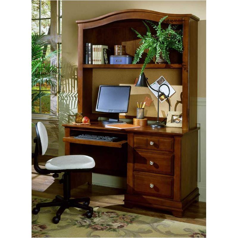 Bb19 778b Vaughan Bassett Furniture Cottage Cherry Computer Desk