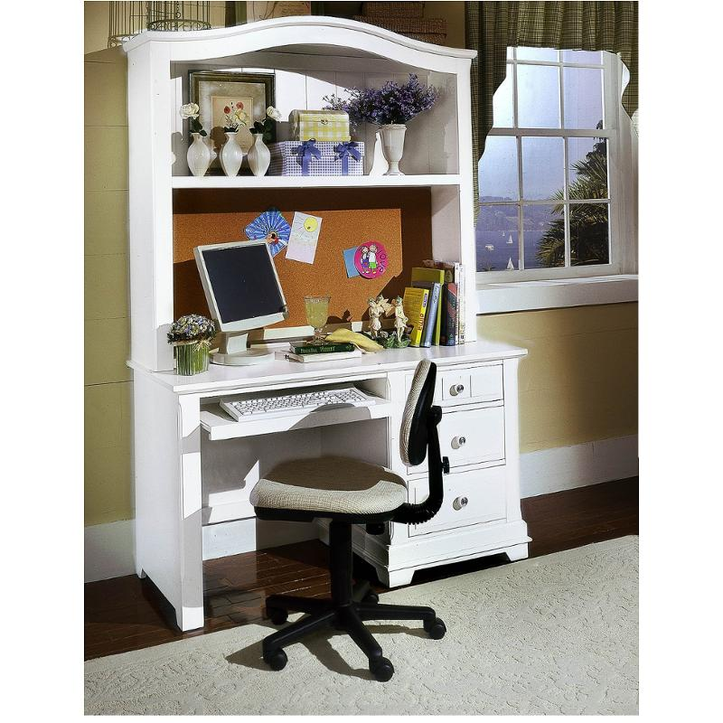 Bb24 778b Vaughan Bassett Furniture Cottage Snow White Computer Desk