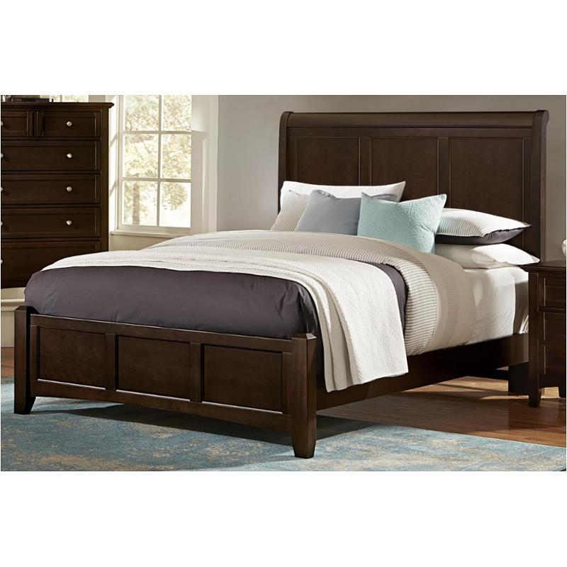 Bb27-553 Vaughan Bassett Furniture Queen Sleigh Bed