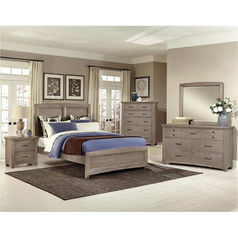 Bb61-558 Vaughan Bassett Furniture Transitions - Driftwood Oak