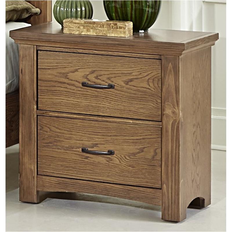 Bb63-226 Vaughan Bassett Furniture Transitions - Dark Oak Night Stand -  Dark Oak