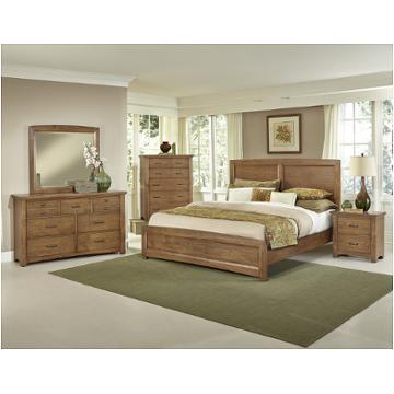 Bb63 668 Vaughan Bassett Furniture Transitions Dark Oak Bedroom Bed