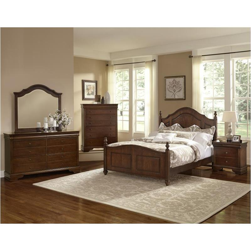 382 558 Vaughan Bassett Furniture French Market French Cherry
