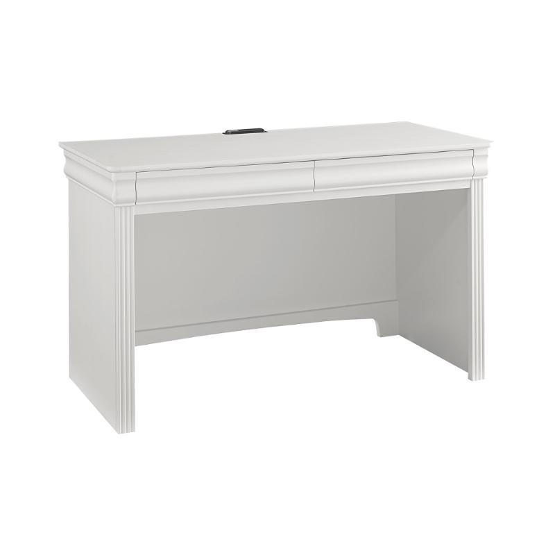 384 778 Vaughan Bassett Furniture French Market Soft White Kids Room Desk