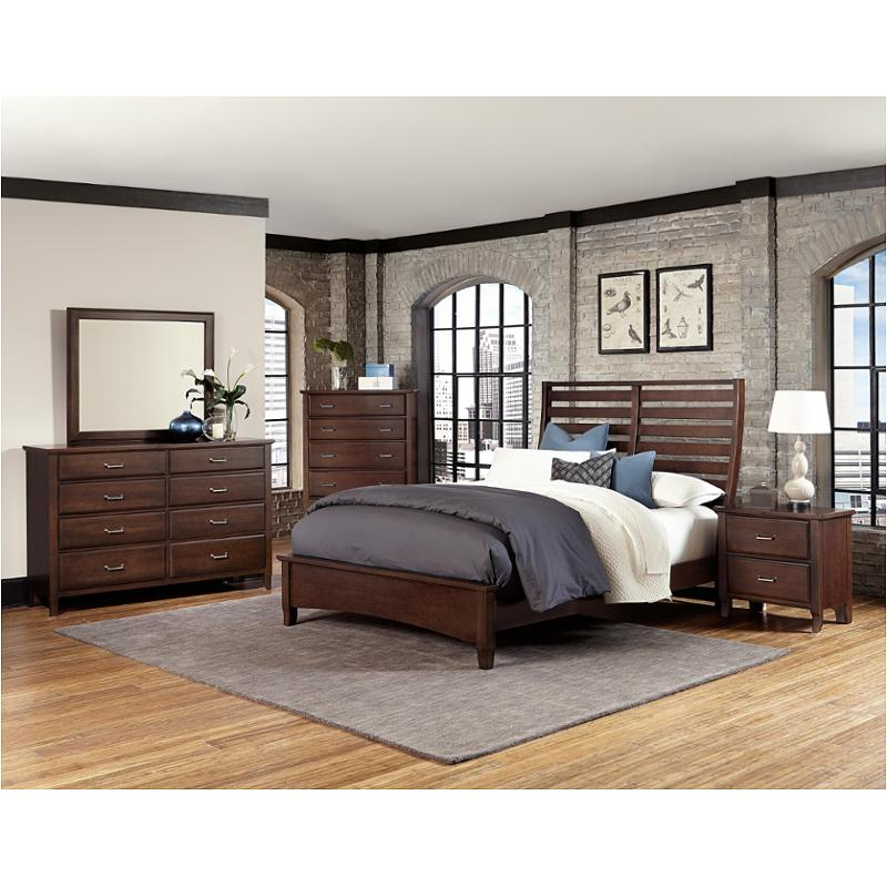 392 558 Vaughan Bassett Furniture Commentary Cherry Bed