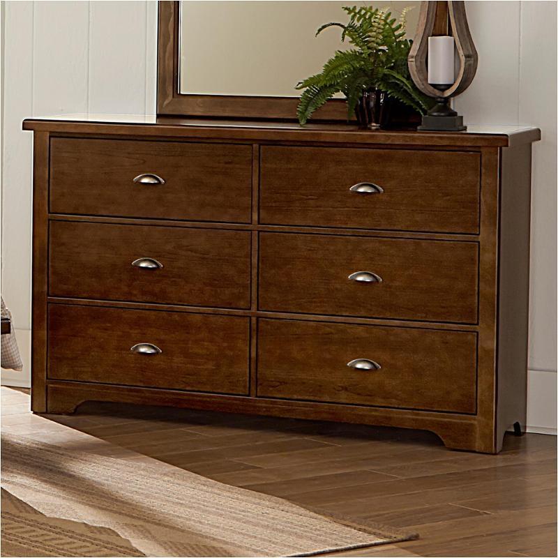 Bb79 002 Vaughan Bassett Furniture D Day   Cherry Bedroom Dresser
