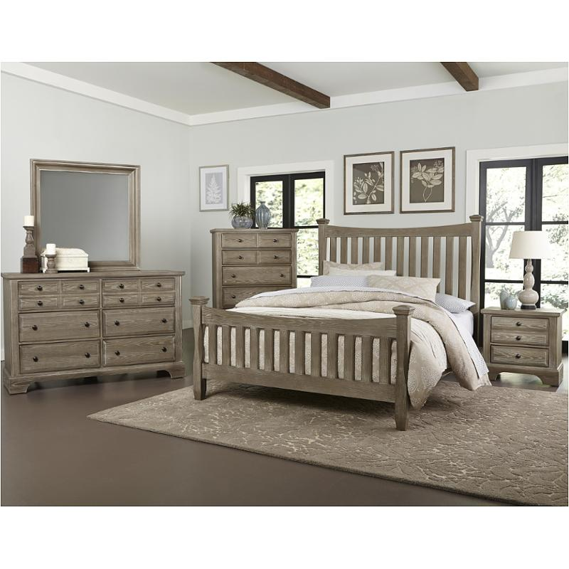 Bb81-559 Vaughan Bassett Furniture Queen Poster Bed
