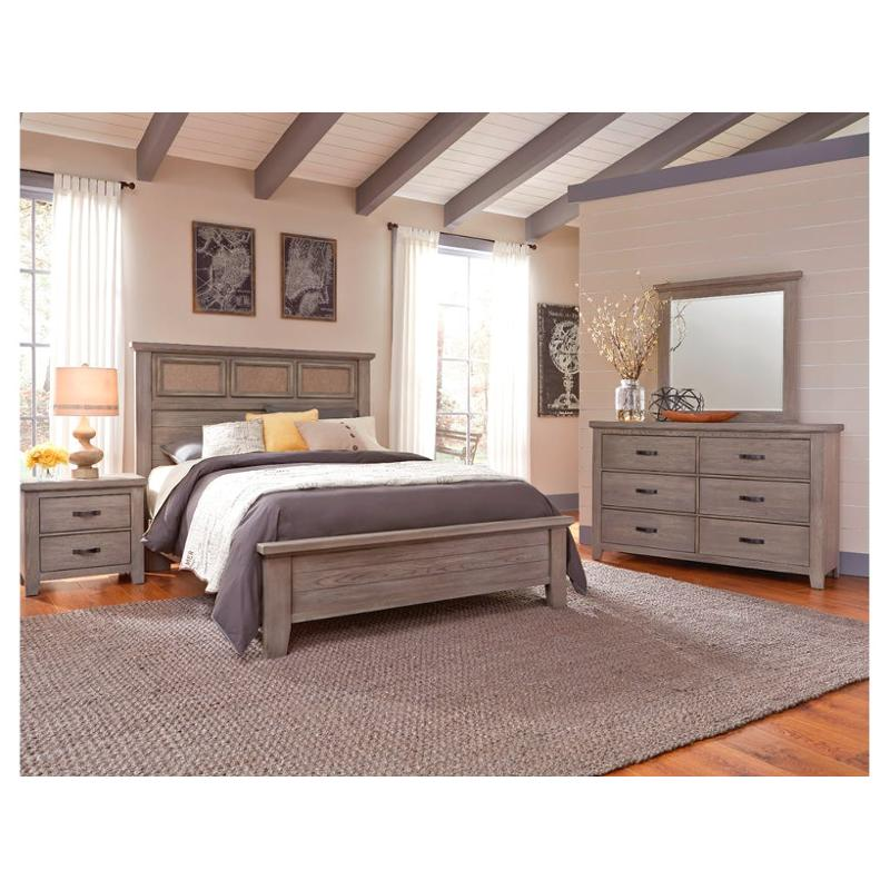 516 669 Vaughan Bassett Furniture Cassell Park Weathered Grey