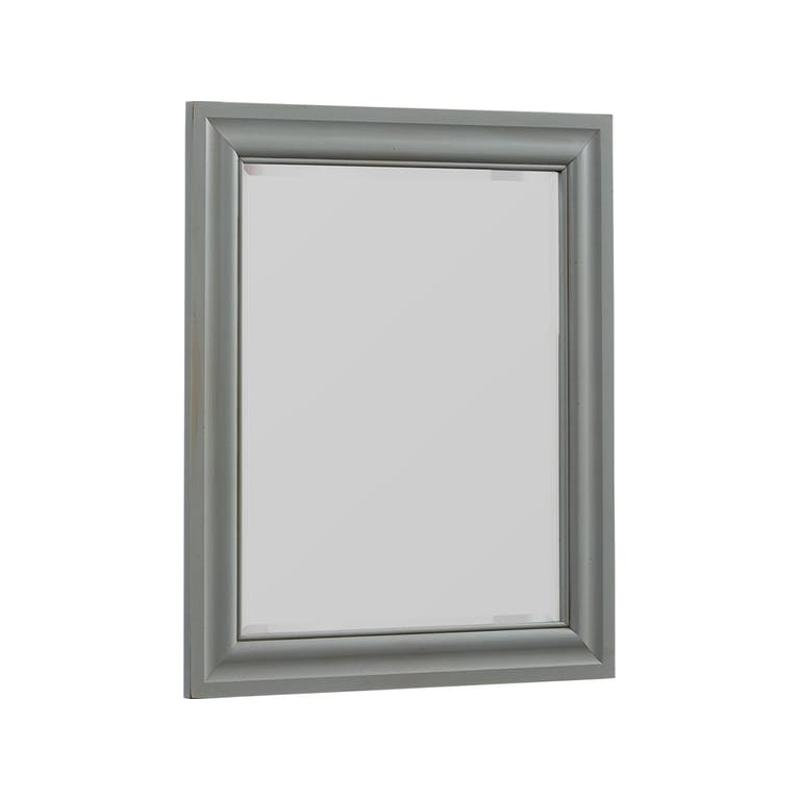 381 442 Vaughan Bassett Furniture Youth Landscape Mirror Zinc