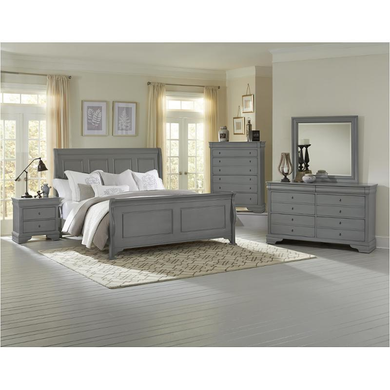 381-551 Vaughan Bassett Furniture Queen Sleigh Bed