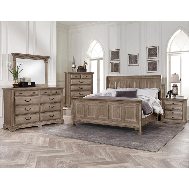 Bb96 553 Vaughan Bett Furniture Woodlands Driftwood Bedroom Bed