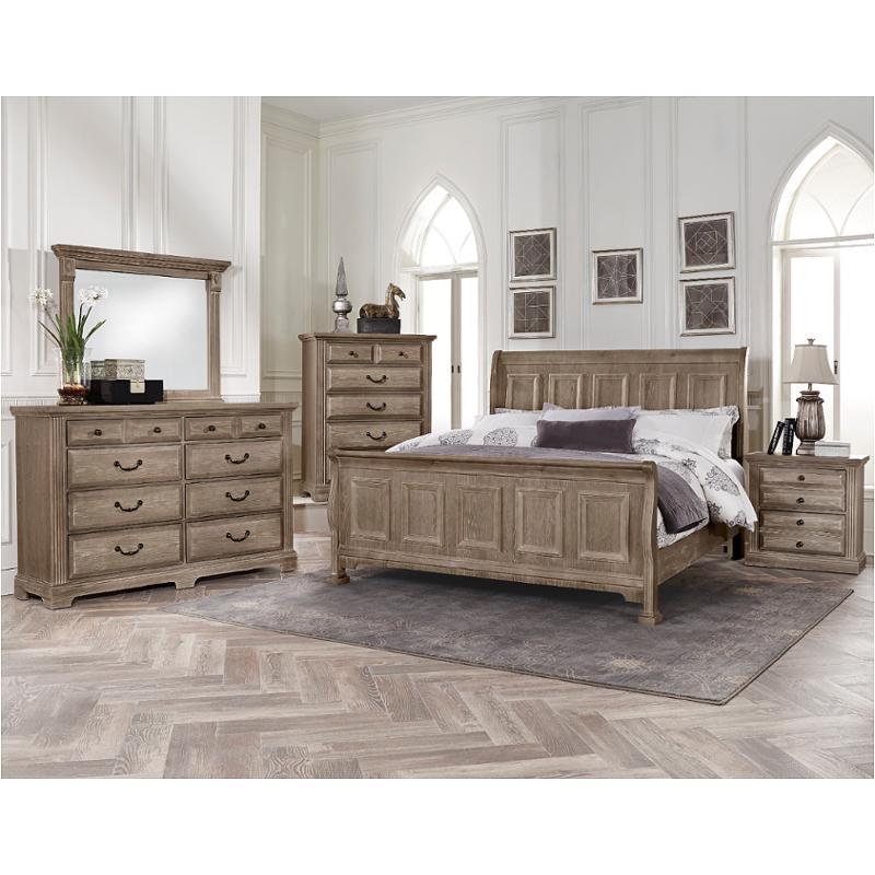 Bb96-663 Vaughan Bassett Furniture King Sleigh Bed