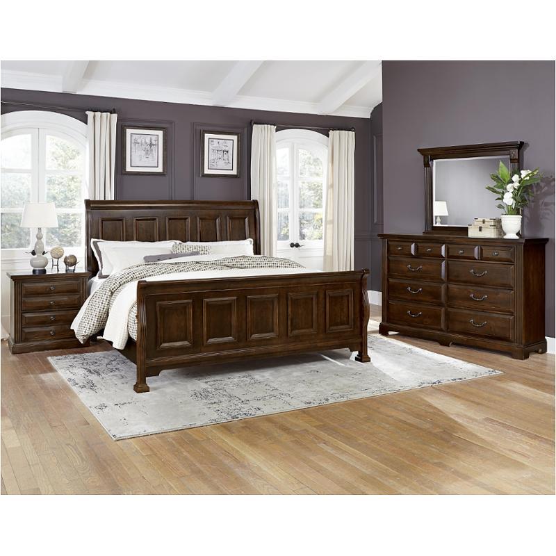 Bb98 553 Vaughan Bassett Furniture Queen Sleigh Bed