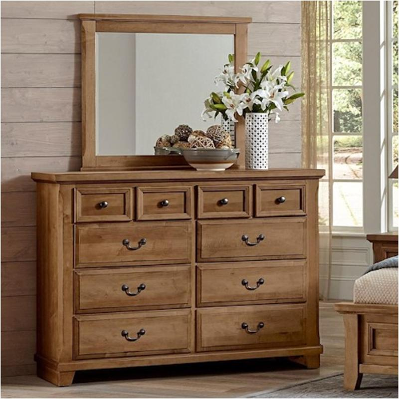 low priced a4b93 77b4c 672-004 Vaughan Bassett Furniture Timber Creek - Natural Maple 8 Drawer  Bureau