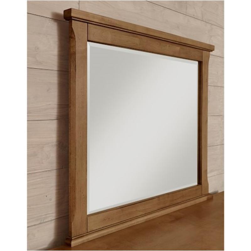 672 446 Vaughan Bassett Furniture Timber Creek   Natural Maple Bedroom  Mirror