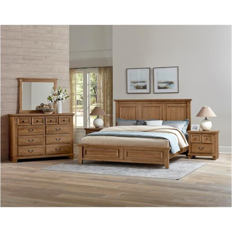 672-557 Vaughan Bassett Furniture Queen Mansion Bed