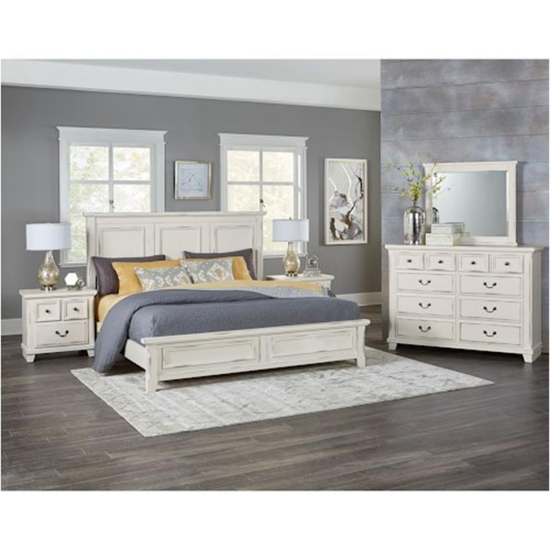 674-557 Vaughan Bassett Furniture Queen Mansion Bed
