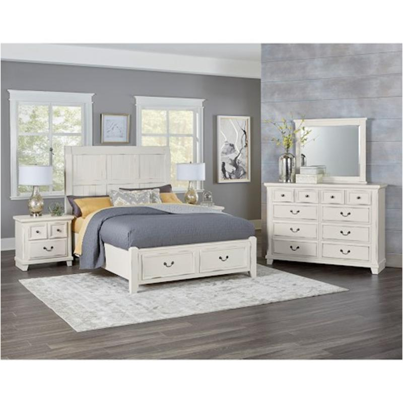 Claymore Park Off White 8 Pc Queen Panel Bedroom Traditional