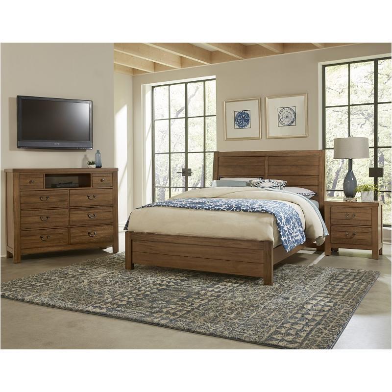 702 559 Vaughan Bassett Furniture Queen Plank Bed