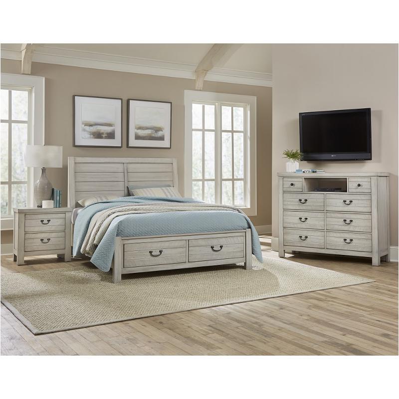 704 559 St Vaughan Bassett Furniture Queen Plank Bed St