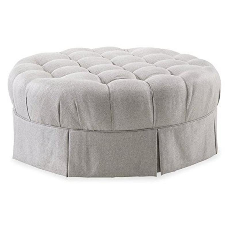 Prime 513524 5001Aa A R T Furniture Ava Round Tufted Top Ottoman Gmtry Best Dining Table And Chair Ideas Images Gmtryco